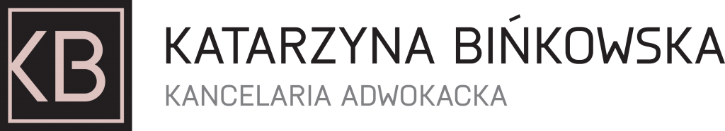 Kancelaria adwokacka logo, katarzyna bińkowska logo